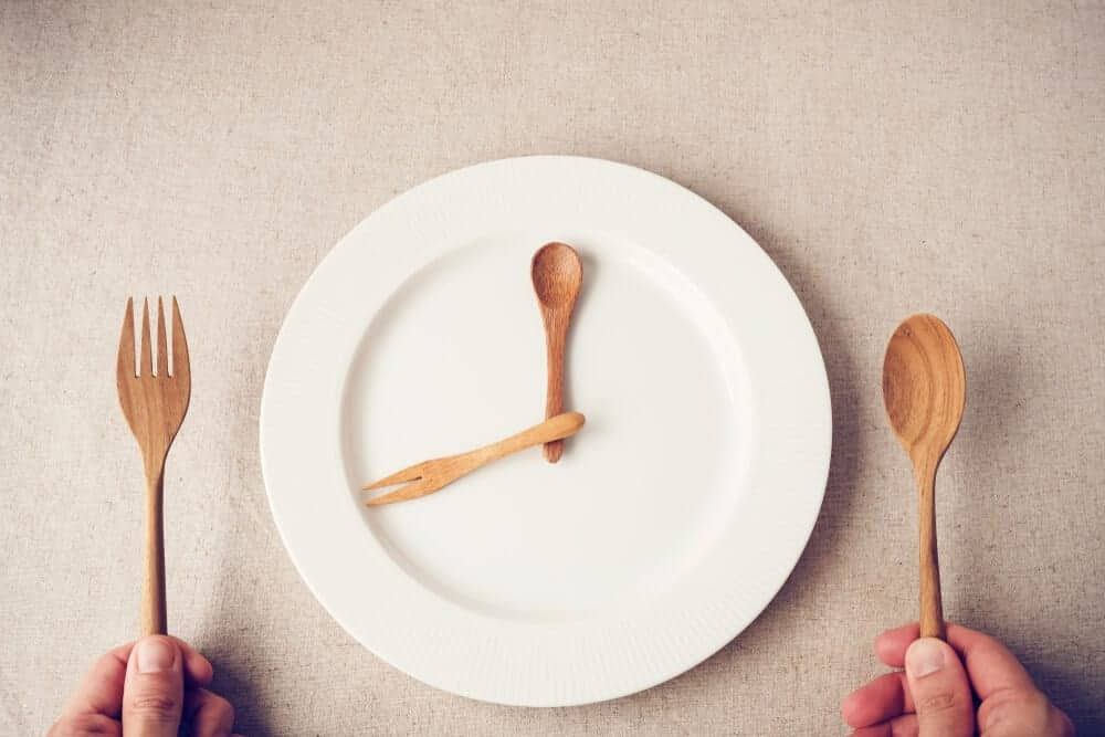 Clock Plate | Intermittent Fasting | The Meadowglade