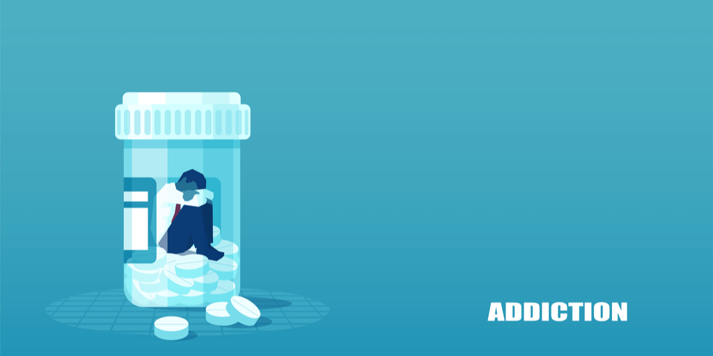 Pill Bottle - Dependence Addiction - Meadowglade